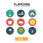 Flaticons full set