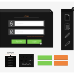 Simple Vector UI Kit