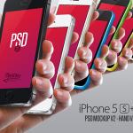 Iphone 5S & 5C Mockup