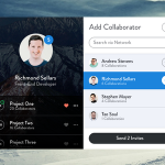 Add Collaborator – Modal